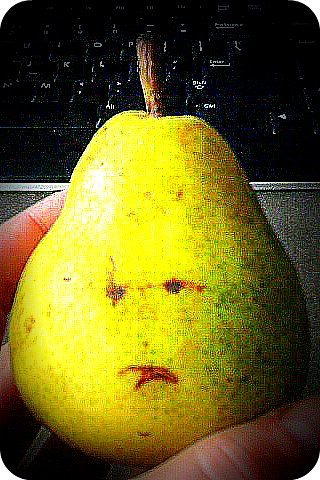 Fwd: sad pear
