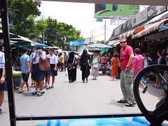 View from the tram, Chatuchak Weekend Market