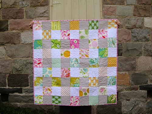 nicey jane baby quilt