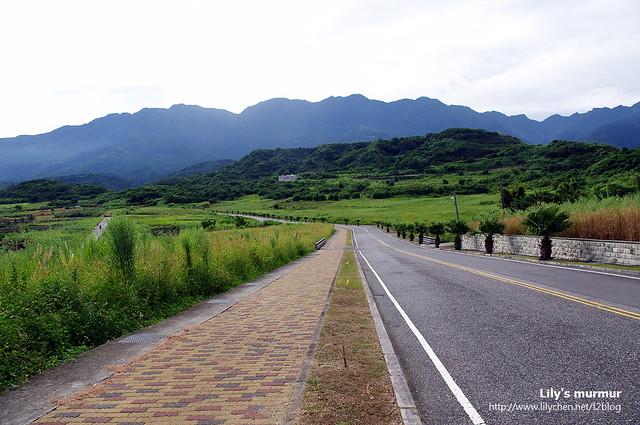 騎往三仙台的路上,尼隨手拍下的風景之一。