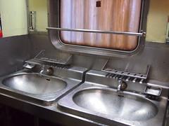 Sinks, Train 69 from Bangkok to Nong Khai