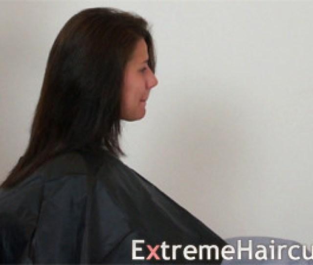 Elisa 1 Extremehaircut Haircut Impressions Tags Haircut Fetish Hair Shaved Bald