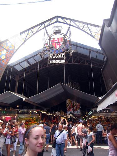 La Boqueria D at Entrance