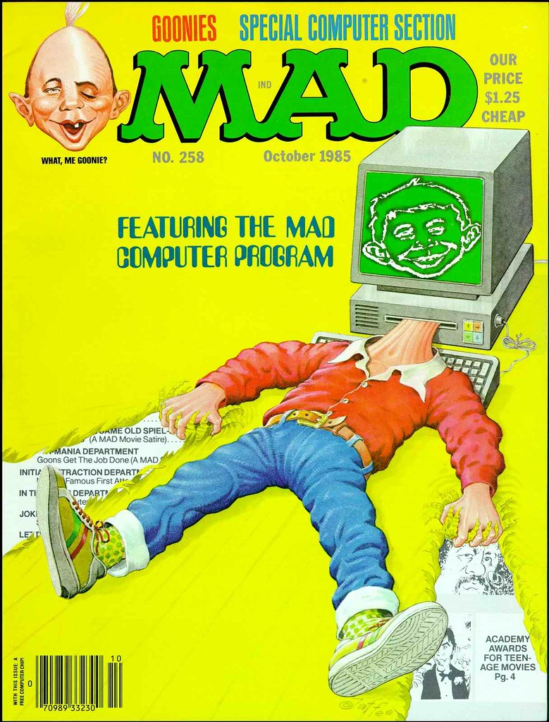 Mad magazine 258