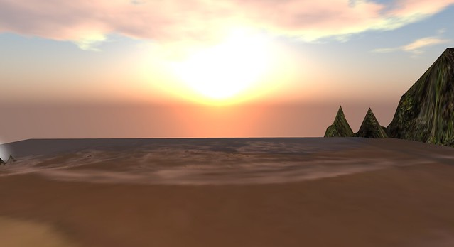 Sunsets in Second Life