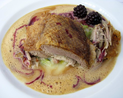 Roast Duck with Blackberries and Orange-Pepper Sauce @ Hamburger Food Market