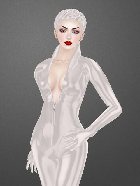 SLink Vixen catsuit: close-up