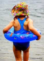 Swimming at Plainfield Pond