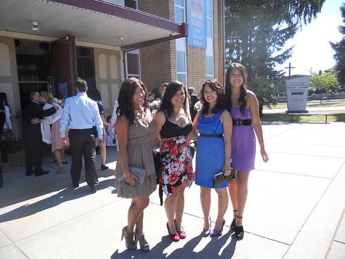 Me, Natalia, Anj, and Frances