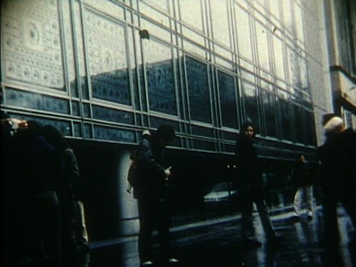 Still from the to do list confessions (film): Outside Institut du Monde Arabe (Paris, France)