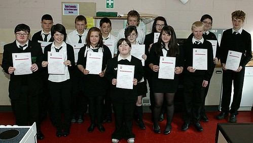 Elementary Food Hygiene Certificates Awarded