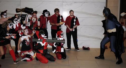 Harleys vs. Batman