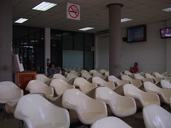 Waiting Area in Departure Lounge, Luang Prabang International Airport