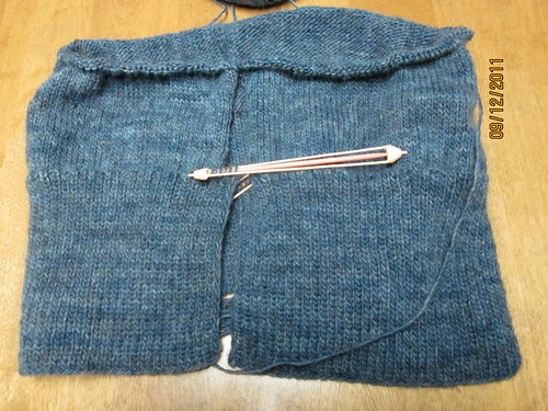 Moorland Cardi Progress 1 by Pointe Shoes Punk Rock And Purl Pix