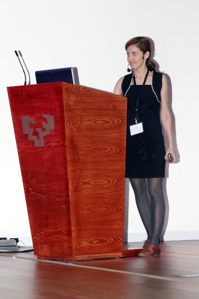 América Valenzuela @A_Valenzuela (RTVE) en Amazings Bilbao 2011