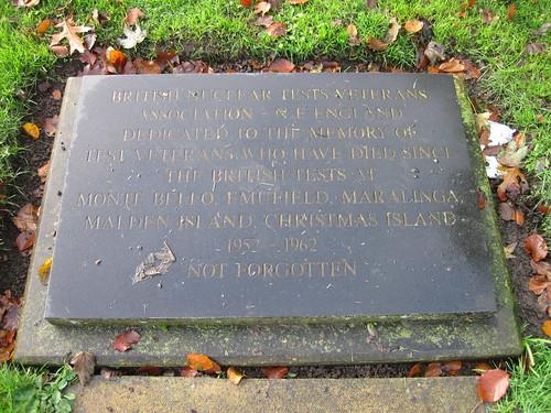 Billingham Nuclear Test Memorial