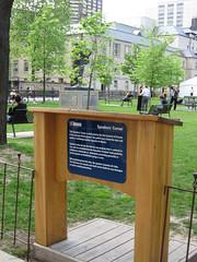 Speakers' Corner, Toronto