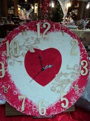 orologio decorato