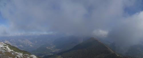 view from MOnte Stivo (Lago di Toblino-Monte Bondone)
