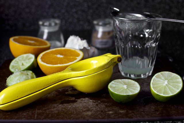 orange and lime juice