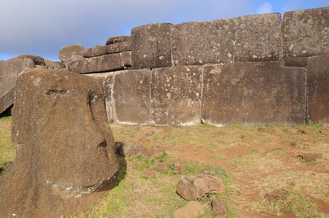 Moai de Vinapu