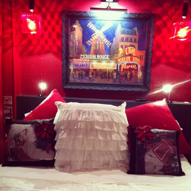 Suite Moulin Rouge #lepradey #chantalthomass