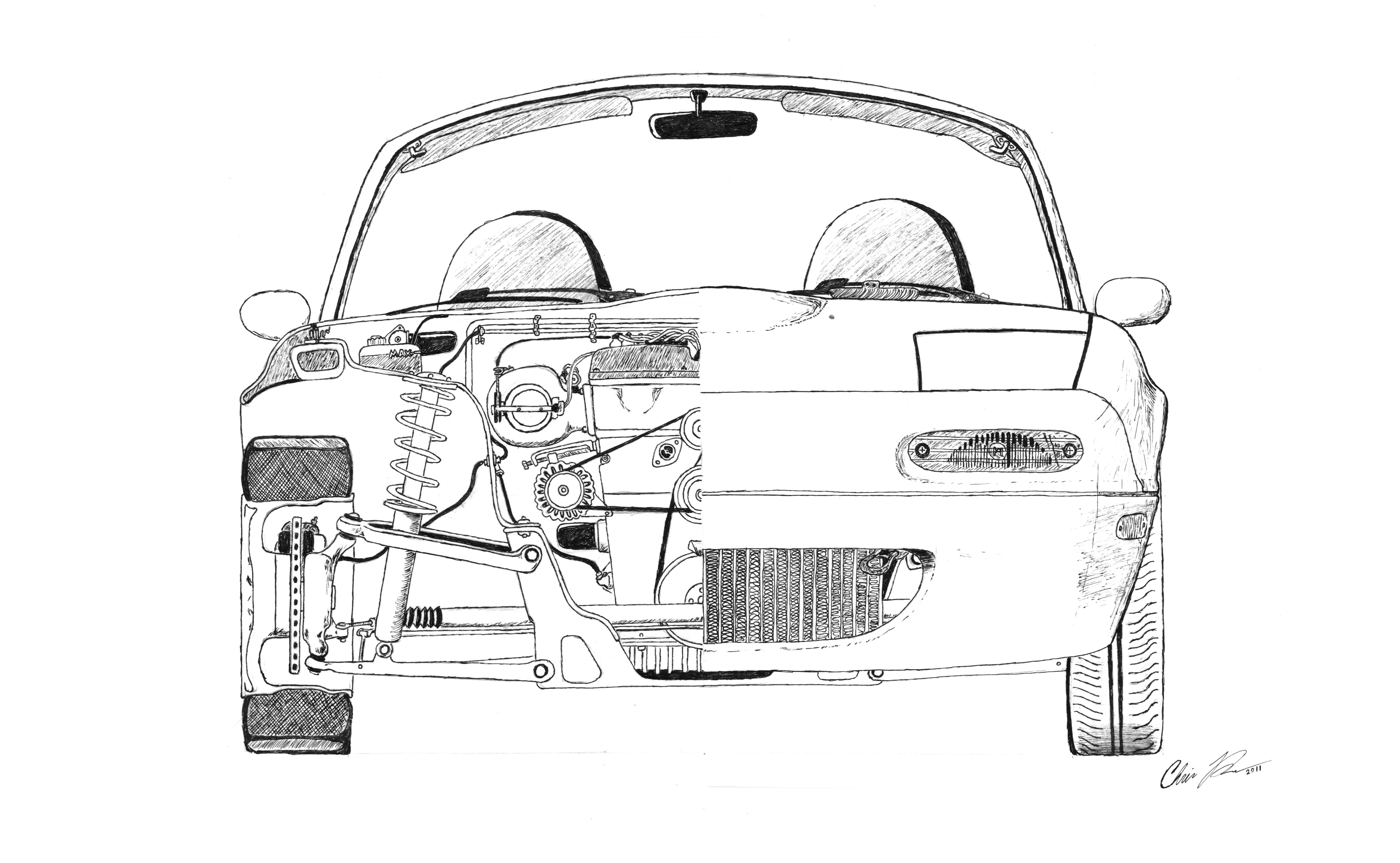 Large Cutaway Drawing Grassroots Motorsports Forum