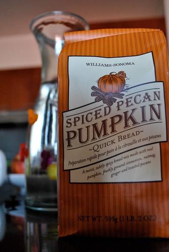 Spiced Pecan Pumpkin Quickbread