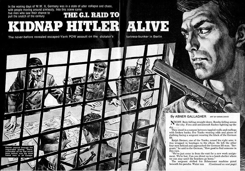 vintage magazine cover art