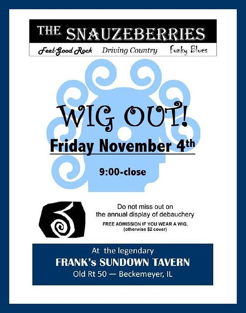 Wig Out 11-4-11