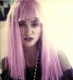 madonna pink wig