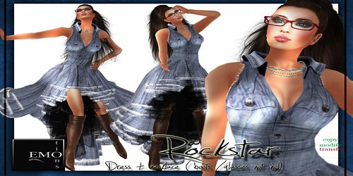 ROCKsTARdress  by EMO-tions @ The Deck