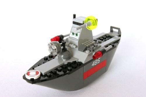 8426 Escape At Sea - Tony Trihull Front