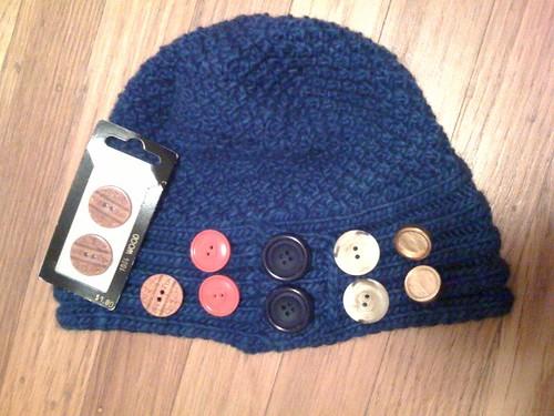 Deciding on buttons