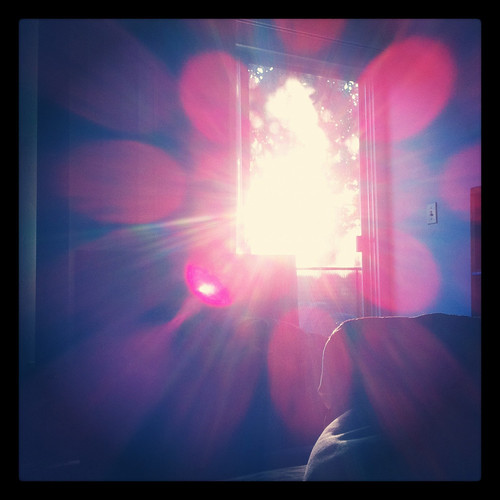 Happy Thing: Sunrise From Bed