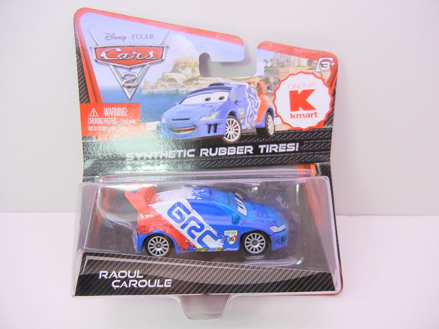 disney cars 2 kmart collector event #7 raoul caroule