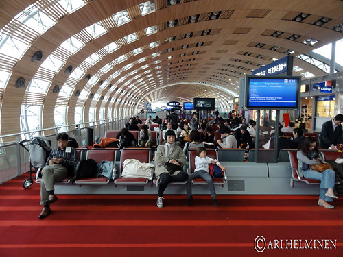 Helsinki to Japan via Paris