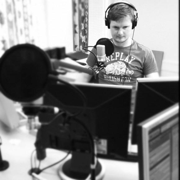 @stefanelof in the makings at #alltidnyheter