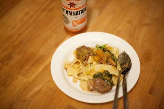 Lamb & butternut squash stew