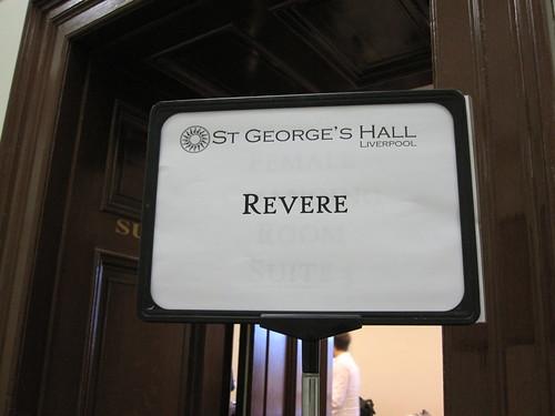 Revere on tour