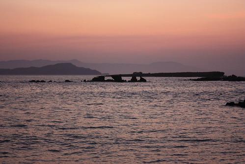 Chania, sunset