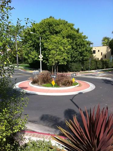 Long beach roundabout