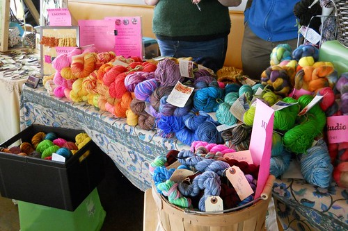 Handmade Market Booth: Show of Color