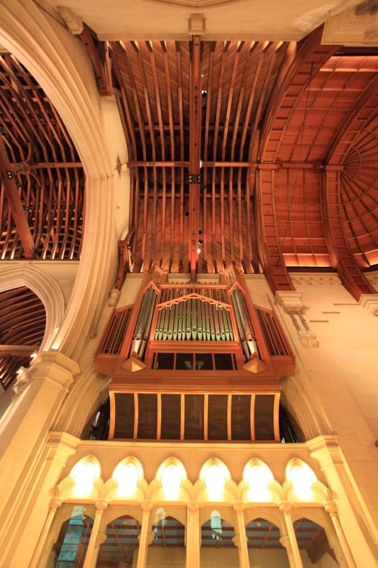 pipe organ in Christchurch