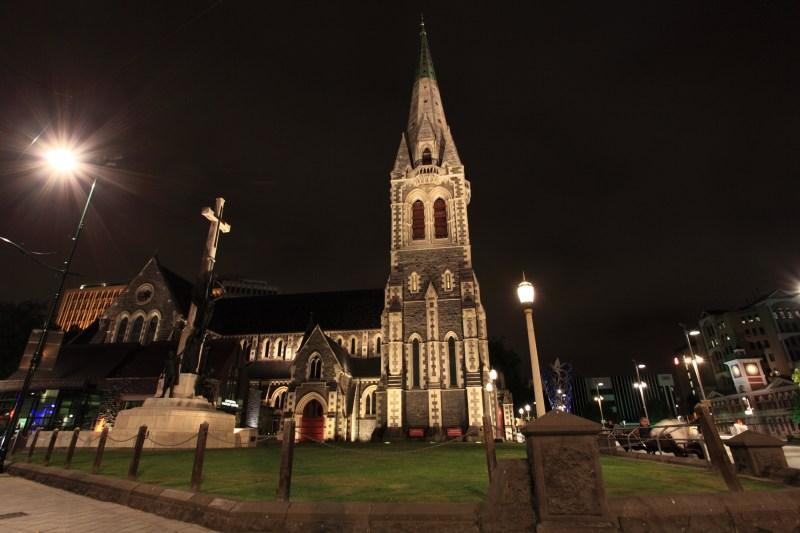 Christchurch night scene