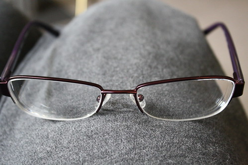 Converse Dissaray purple eyeglasses