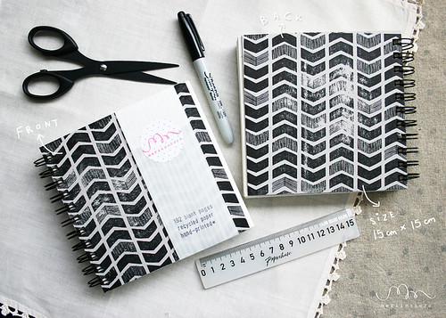 Notebook Chevron1