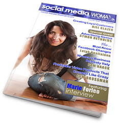 Oct 2011 Cover Of Social Media Woman Magazine