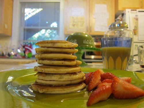 Sym's Birthday Pancakes