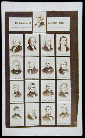 Presidents of the United States, before 1868
